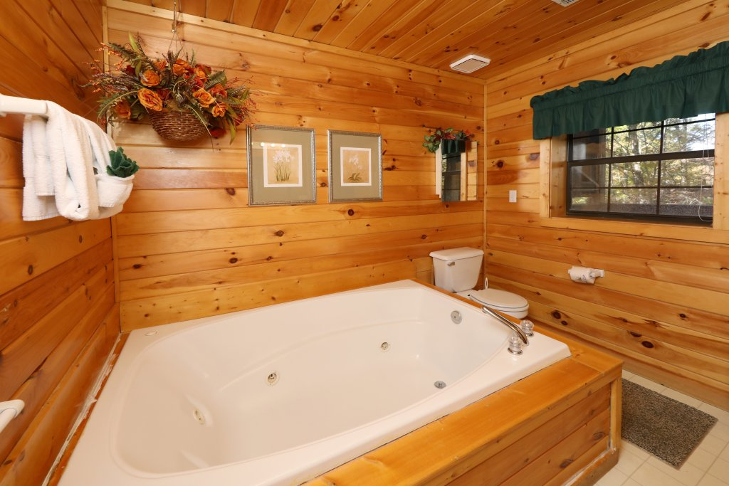 Photo of a Pigeon Forge Cabin named Four Seasons #193 - This is the twenty-third photo in the set.