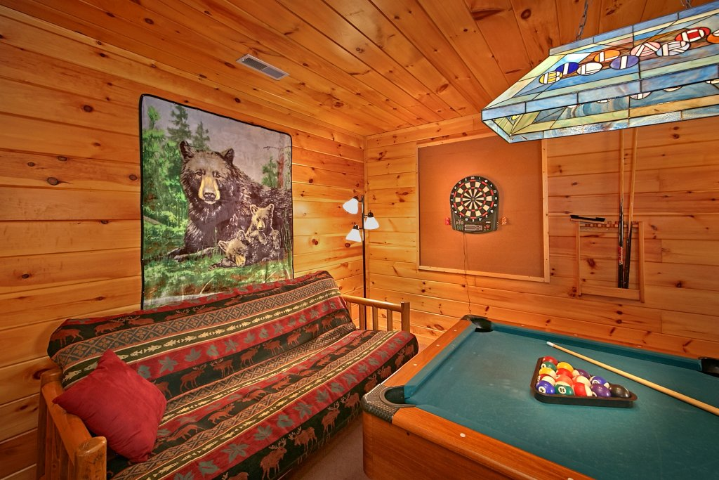 Photo of a Gatlinburg Cabin named A Secret Hideaway - This is the seventh photo in the set.