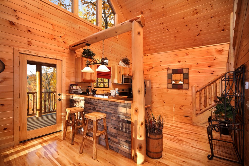 Photo of a Gatlinburg Cabin named Living In Paradise - This is the fourth photo in the set.