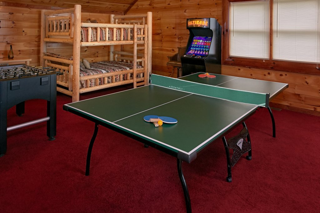 Photo of a Gatlinburg Cabin named Live, Laugh, Love Pool Lodge - This is the fourth photo in the set.