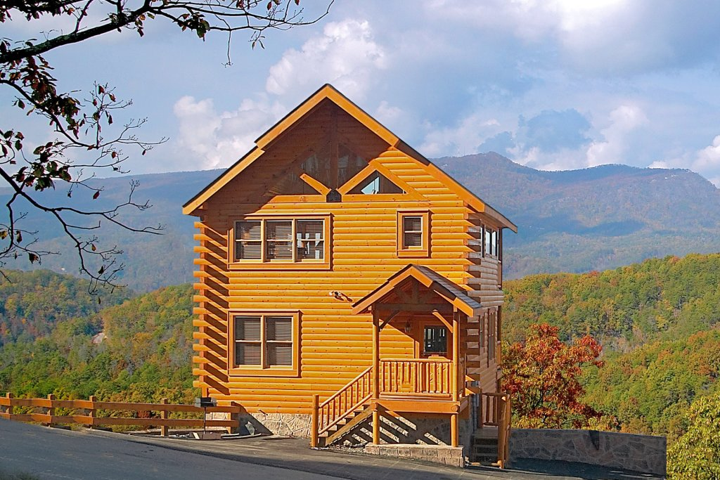 Photo of a Sevierville Cabin named Awesome Views - This is the twelfth photo in the set.