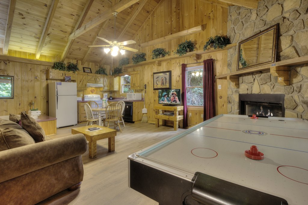 Photo of a Pigeon Forge Cabin named Stream Of Love #374 - This is the sixteenth photo in the set.
