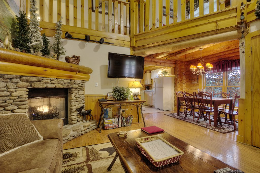 Photo of a Pigeon Forge Cabin named Lucky Logs #283 - This is the second photo in the set.