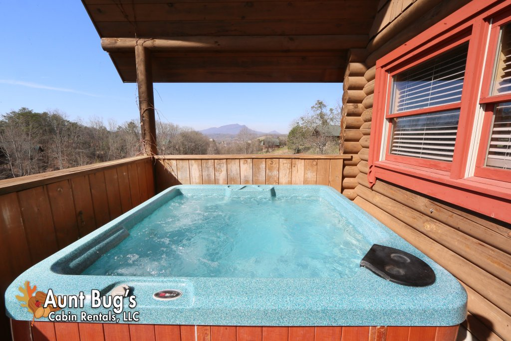 Photo of a Pigeon Forge Cabin named A Slice Of Paradise #161 - This is the second photo in the set.