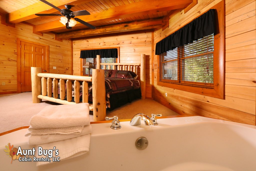 Photo of a Gatlinburg Cabin named Swimmin With Bears #375 - This is the twenty-second photo in the set.