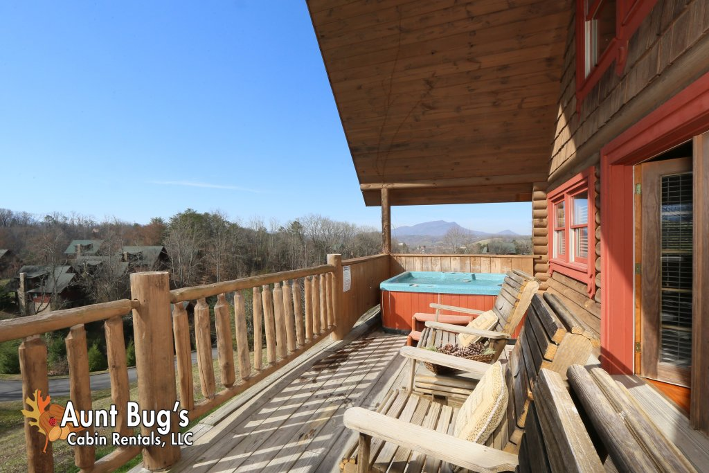 Photo of a Pigeon Forge Cabin named A Slice Of Paradise #161 - This is the twenty-eighth photo in the set.