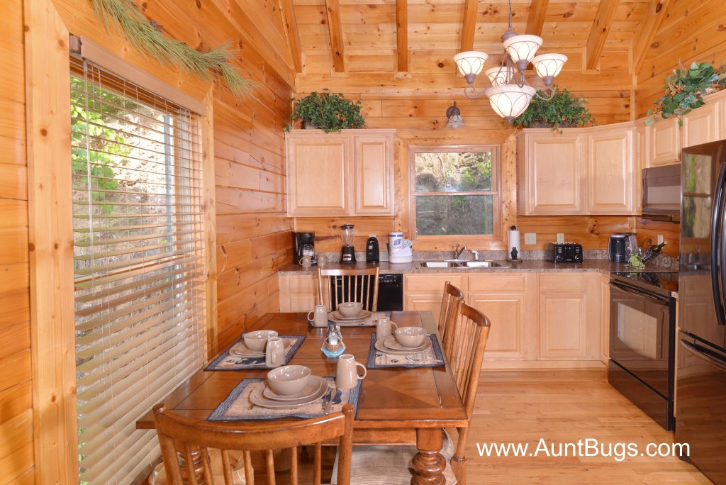 Photo of a Sevierville Cabin named Poolside Retreat #221 - This is the third photo in the set.