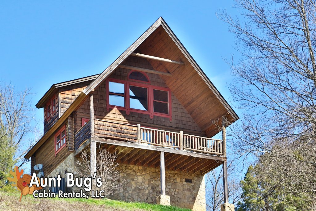 Photo of a Pigeon Forge Cabin named A Slice Of Paradise #161 - This is the first photo in the set.