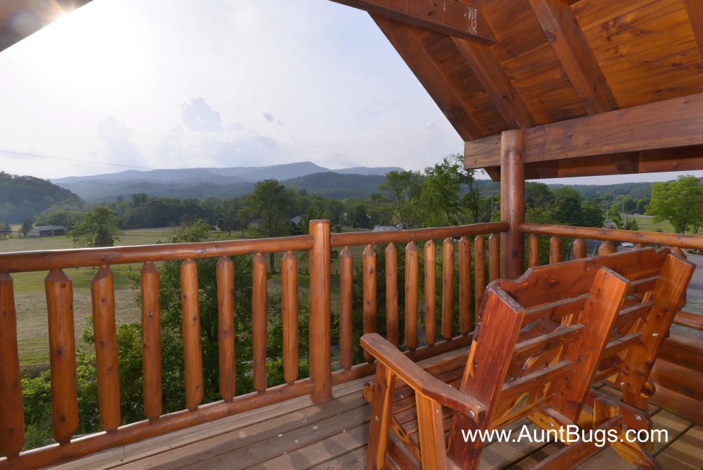 Photo of a Sevierville Cabin named Poolside Retreat #221 - This is the first photo in the set.