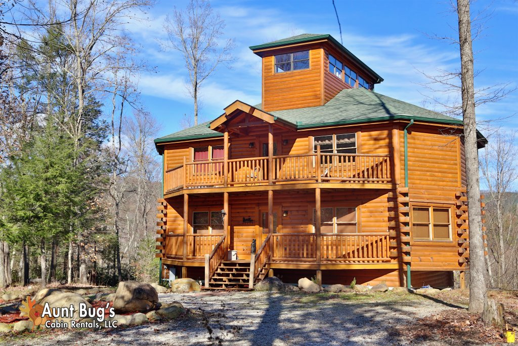 Swimmin With Bears 375 Cabin In Cosby W 3 Br Sleeps12