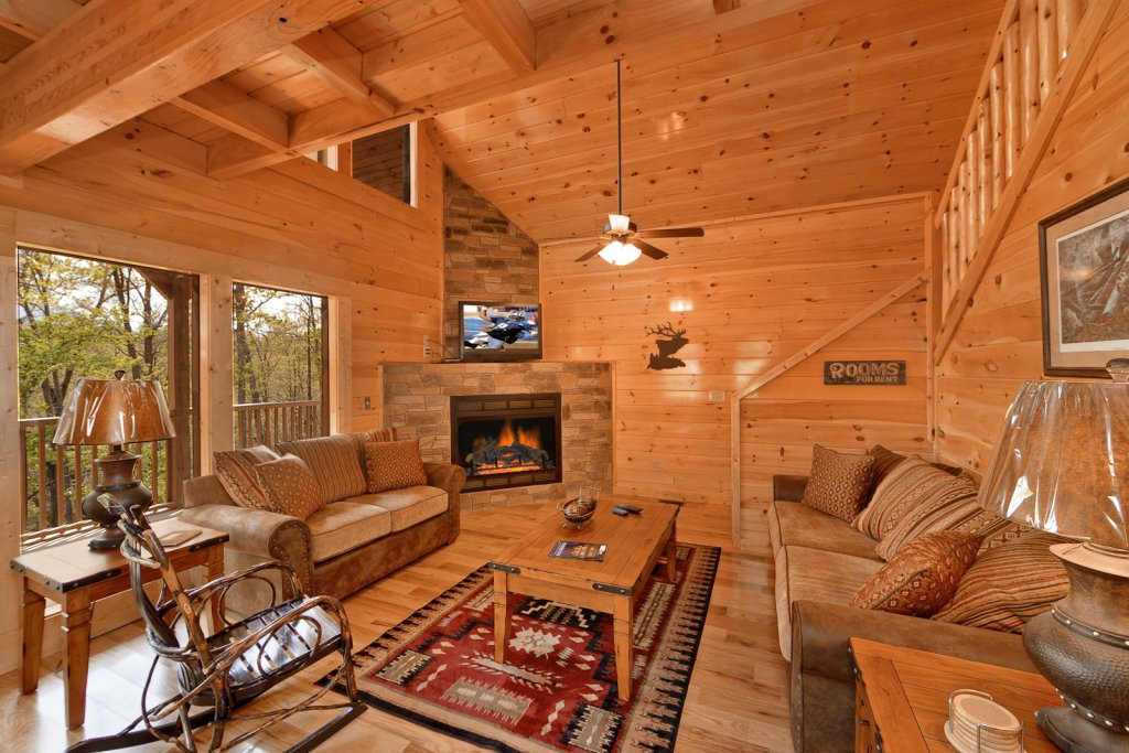 Photo of a Gatlinburg Cabin named Cherokee Charm - This is the tenth photo in the set.
