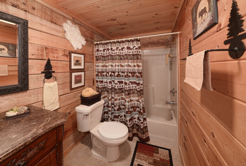 Photo of a Pigeon Forge Cabin named Serendipity - This is the thirteenth photo in the set.