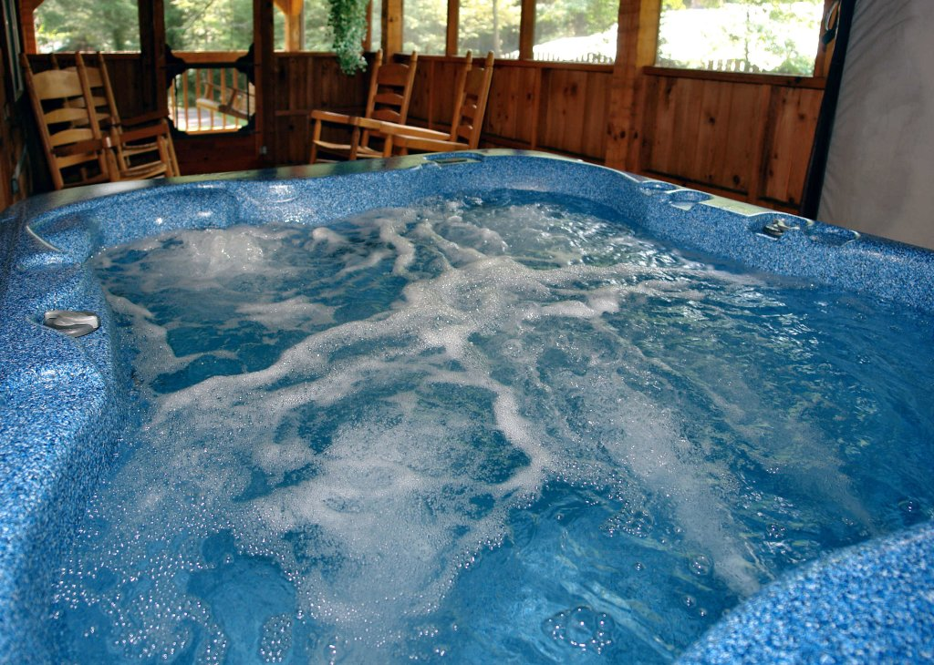 Photo of a Gatlinburg Cabin named Angler's Perch #2523 - This is the third photo in the set.