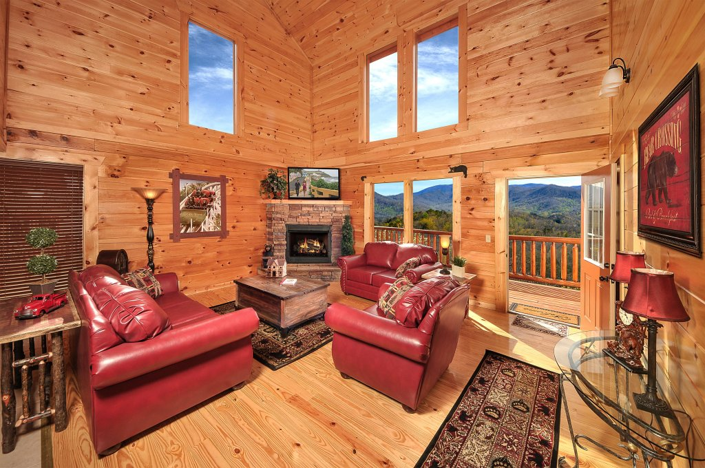 Photo of a Pigeon Forge Cabin named Kings Mountain Lodge - This is the third photo in the set.