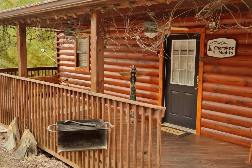 Photo of a Pigeon Forge Cabin named Cherokee Nights #132 - This is the sixth photo in the set.