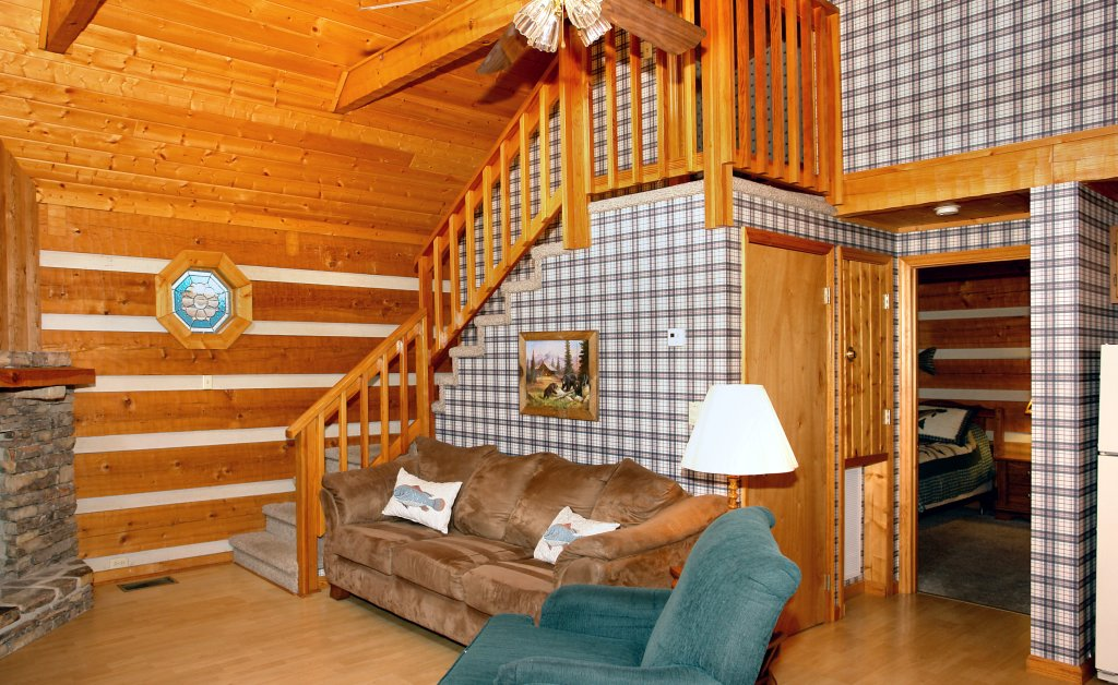 Photo of a Gatlinburg Cabin named Angler's Perch #2523 - This is the eighth photo in the set.