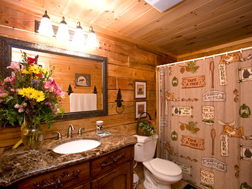 Photo of a Pigeon Forge Cabin named Serendipity - This is the twelfth photo in the set.