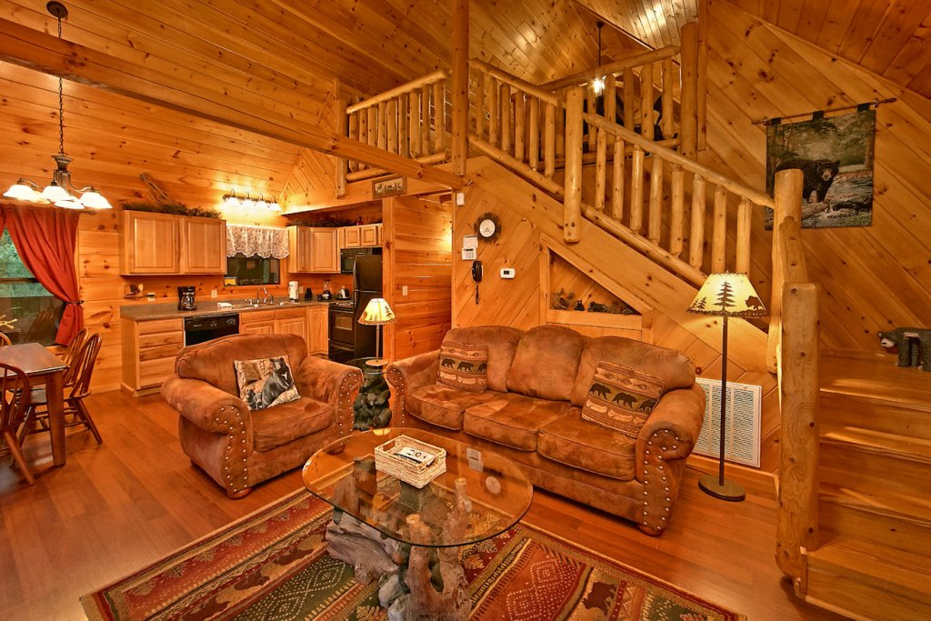 Photo of a Pigeon Forge Cabin named A Bear's Eye View #251 - This is the twenty-sixth photo in the set.