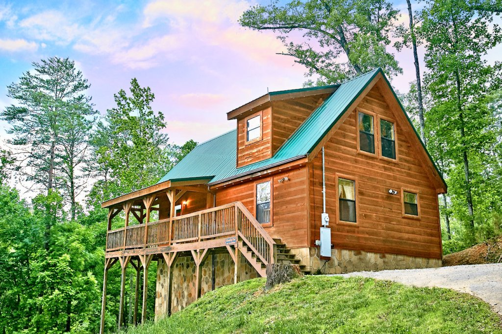 Photo of a Pigeon Forge Cabin named A Bear's Eye View #251 - This is the thirty-second photo in the set.