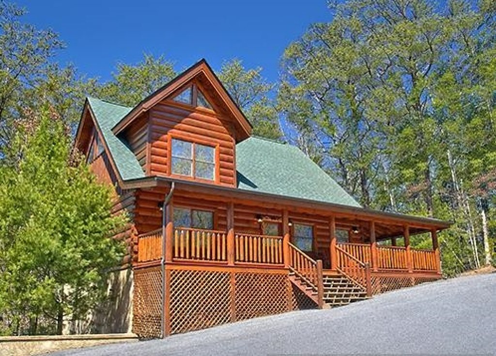 Photo of a Pigeon Forge Cabin named Enchanted Forest - This is the twenty-eighth photo in the set.