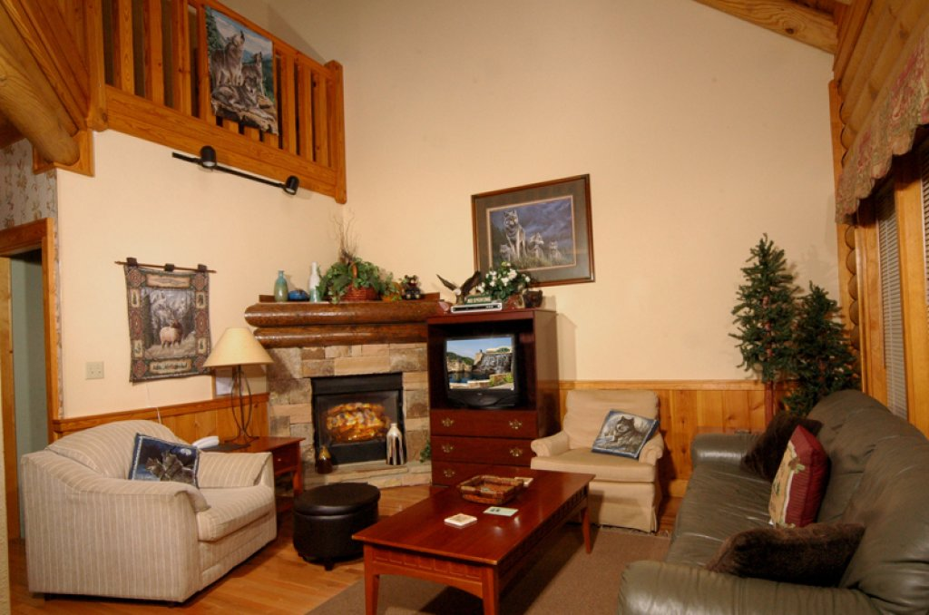 Photo of a Pigeon Forge Cabin named Dollys Dream #284 - This is the eleventh photo in the set.