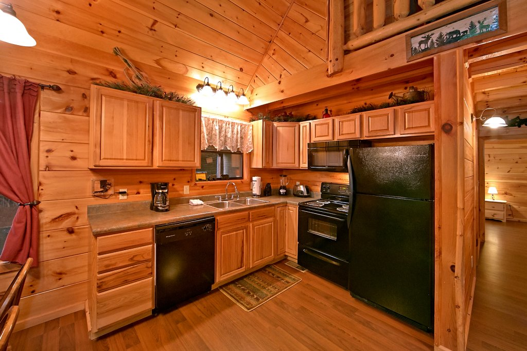 Photo of a Pigeon Forge Cabin named A Bear's Eye View #251 - This is the ninth photo in the set.