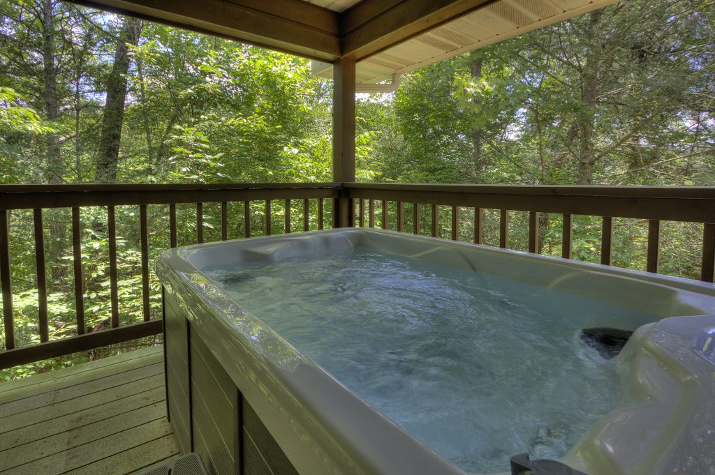 Photo of a Pigeon Forge Cabin named River Sounds #121 - This is the second photo in the set.