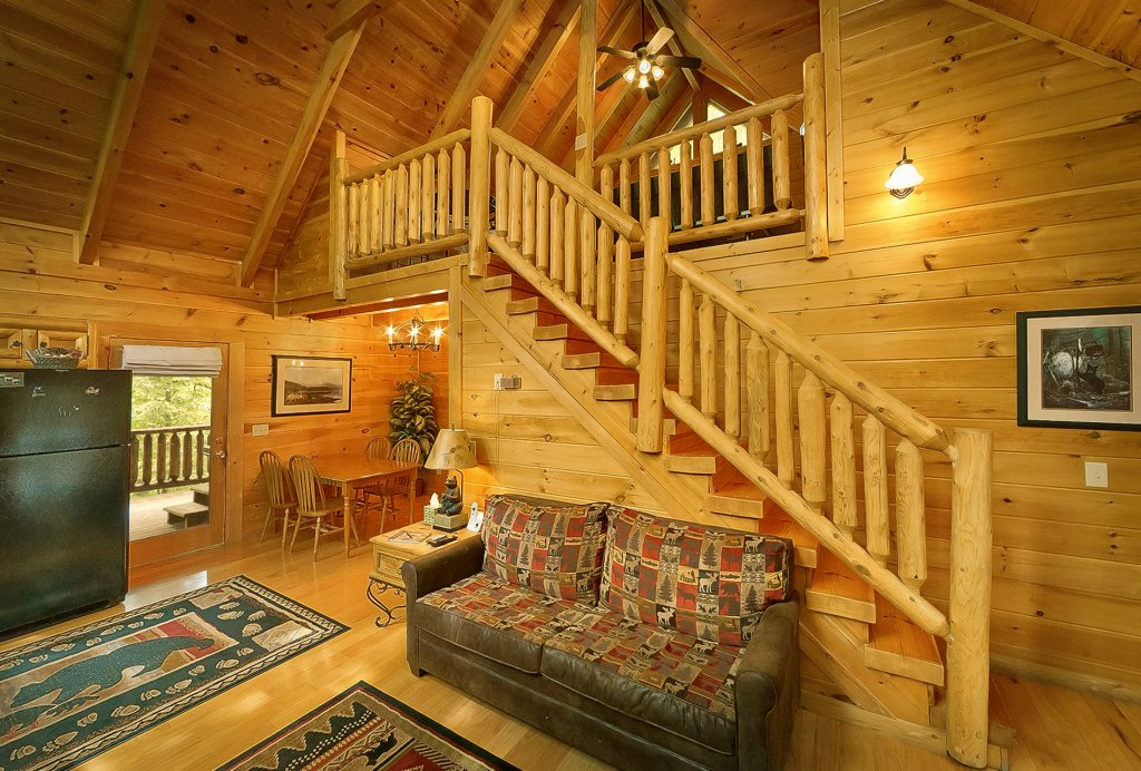 Photo of a Gatlinburg Cabin named The Treehouse #1708 - This is the sixth photo in the set.