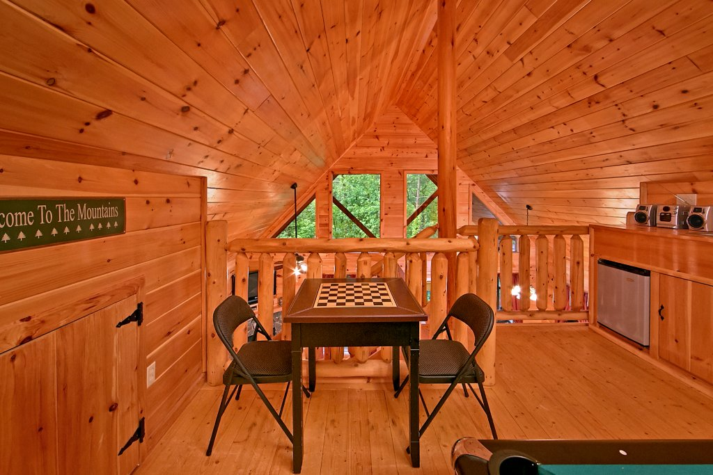 Photo of a Pigeon Forge Cabin named A Bear's Eye View #251 - This is the twenty-second photo in the set.