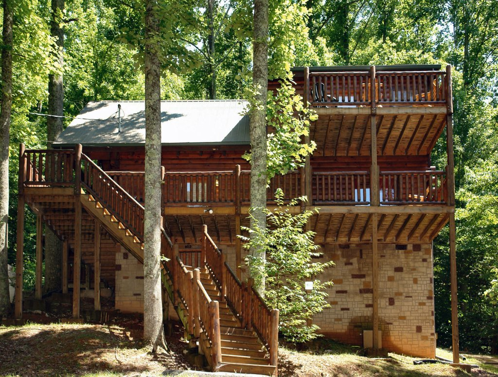 Photo of a Gatlinburg Cabin named Falcon Crest #2911 - This is the second photo in the set.