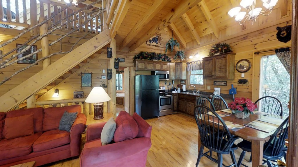 Photo of a Gatlinburg Cabin named Beary Secluded #296 - This is the fourteenth photo in the set.