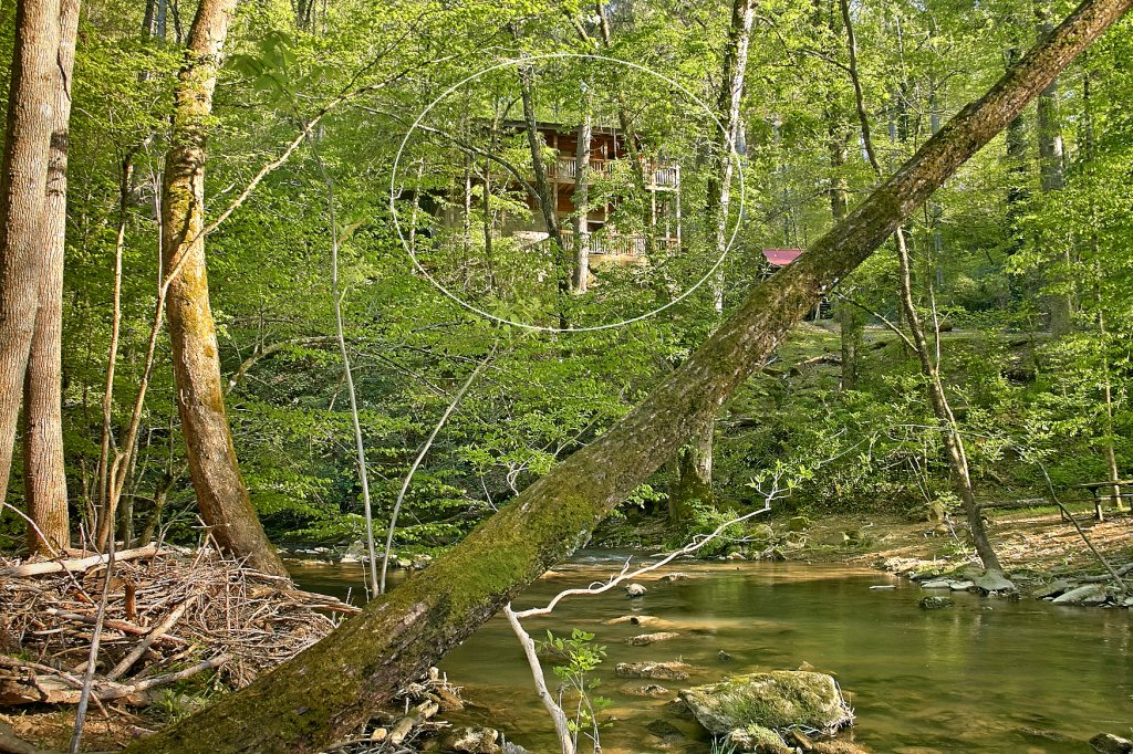 Photo of a Sevierville Cabin named Whispering Waters #208 - This is the nineteenth photo in the set.