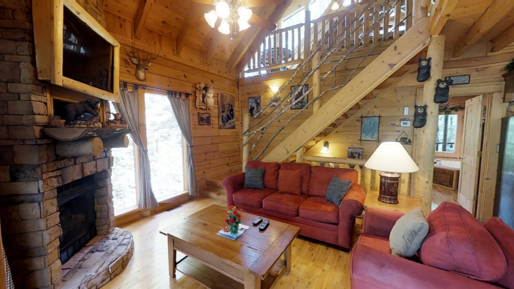 Photo of a Gatlinburg Cabin named Beary Secluded #296 - This is the sixth photo in the set.