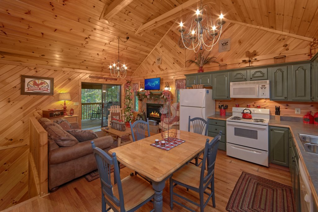 Photo of a Sevierville Cabin named Rooster Ridge Cabin #231 - This is the fourth photo in the set.