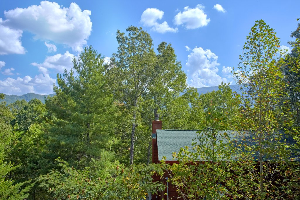 Photo of a Sevierville Cabin named Heavenly Hideaway #256 - This is the twenty-eighth photo in the set.