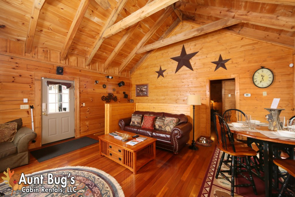 Photo of a Pigeon Forge Cabin named Firefly Hollow #165 - This is the forty-second photo in the set.