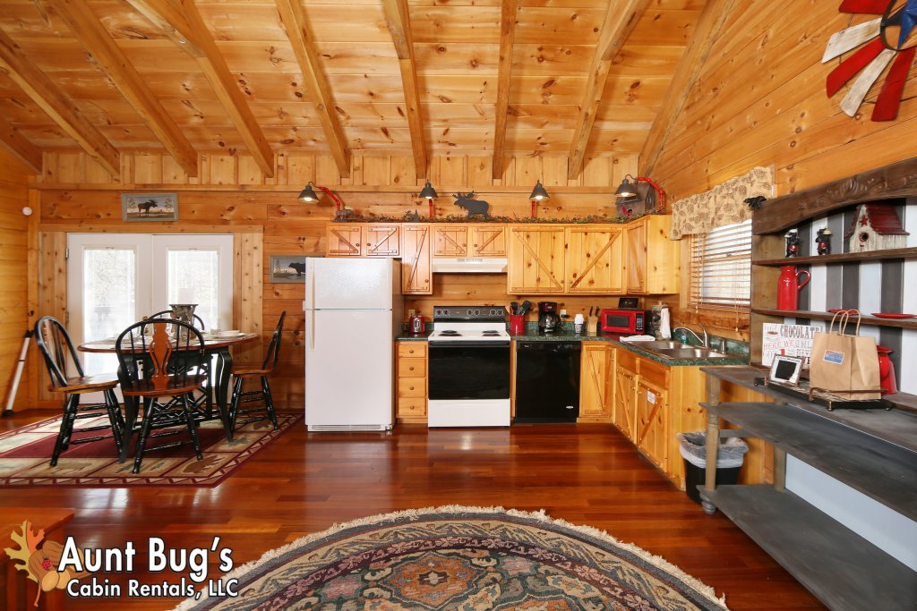 Photo of a Pigeon Forge Cabin named Firefly Hollow #165 - This is the forty-seventh photo in the set.