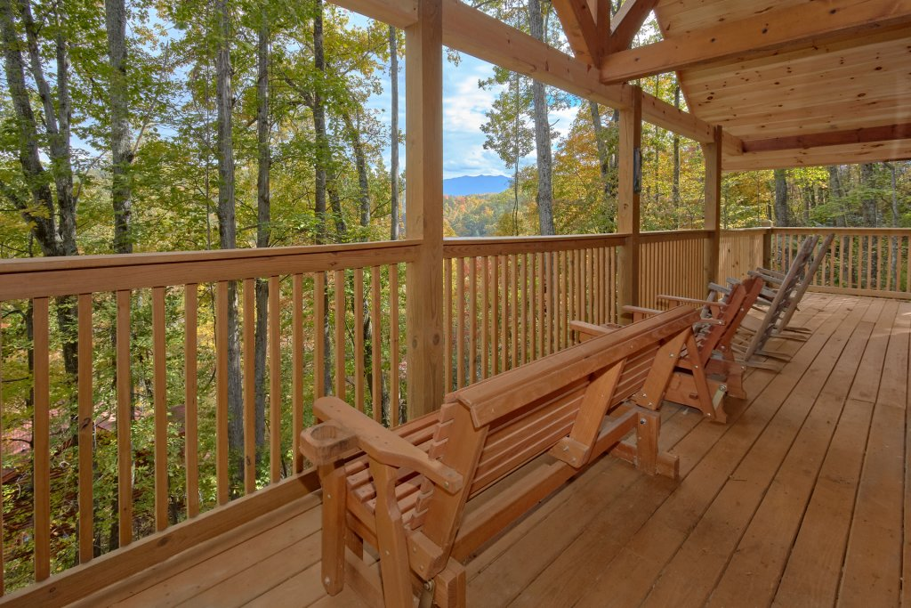 Photo of a Pigeon Forge Cabin named Tranquility Den - 210 - This is the eighth photo in the set.