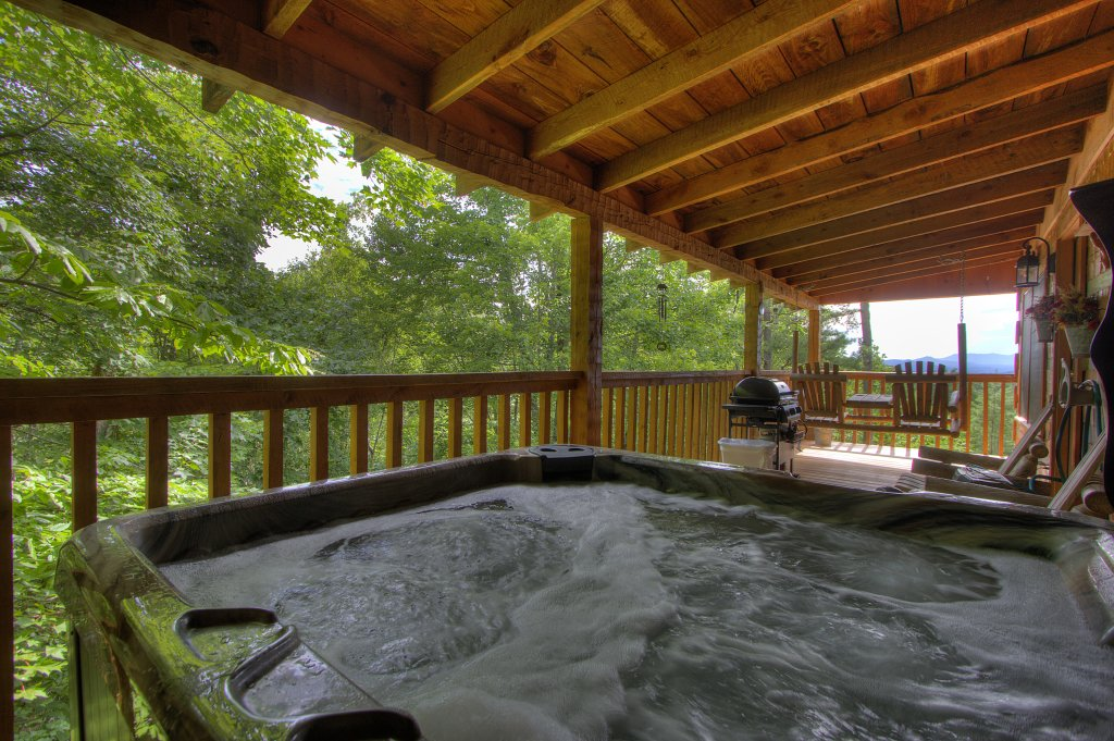 Photo of a Pigeon Forge Cabin named Apple Bear View #116 - This is the third photo in the set.