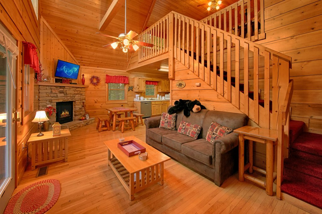 Photo of a Gatlinburg Cabin named Always Misbehavin #1412 - This is the second photo in the set.