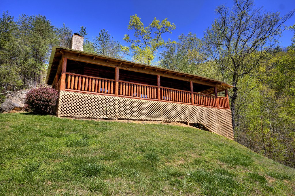 Photo of a Pigeon Forge Cabin named Grandpa Bear's View #233 - This is the forty-fourth photo in the set.