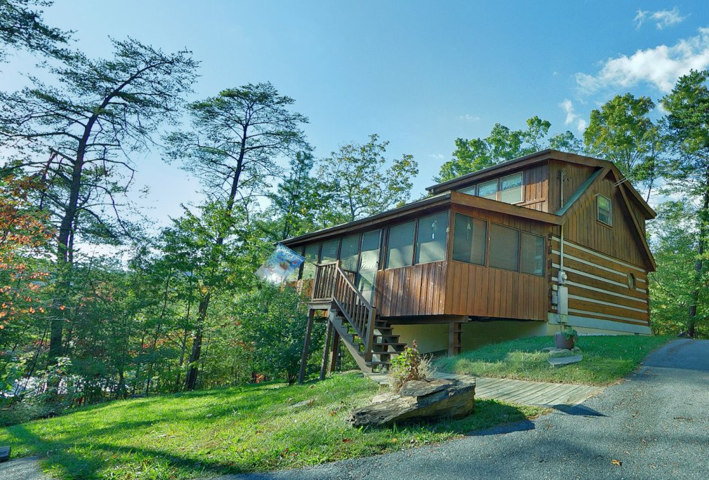 At wild turkey 122 cabin in sevierville w 1 br sleeps6 - 1 bedroom cabins in smoky mountains ...