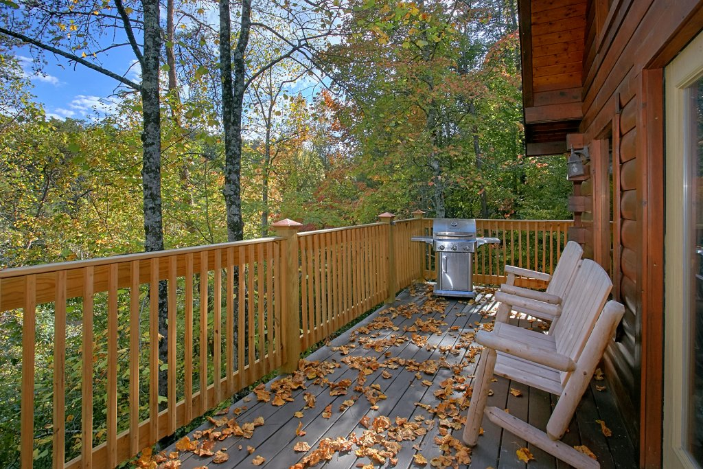 Photo of a Pigeon Forge Cabin named Boulder Bear Lodge #355 - This is the nineteenth photo in the set.