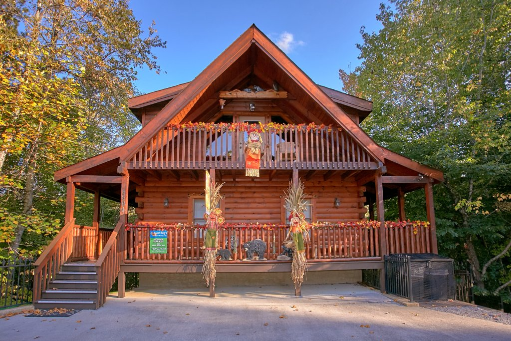 Photo of a Pigeon Forge Cabin named Boulder Bear Lodge #355 - This is the eighth photo in the set.