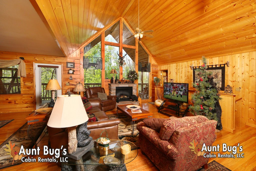 Photo of a Pigeon Forge Cabin named Smoky Mountain Getaway #435 - This is the third photo in the set.