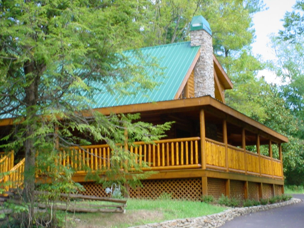 Photo of a Pigeon Forge Cabin named Trout House #350 - This is the twenty-seventh photo in the set.