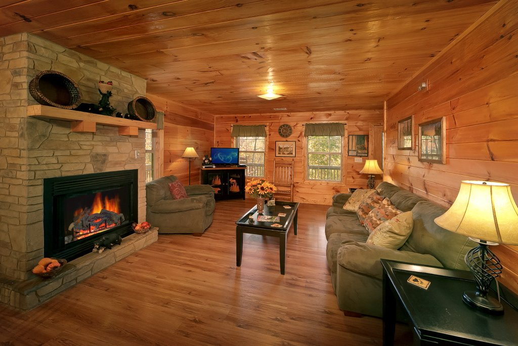 Photo of a Pigeon Forge Cabin named Private Paradise #2810 - This is the third photo in the set.