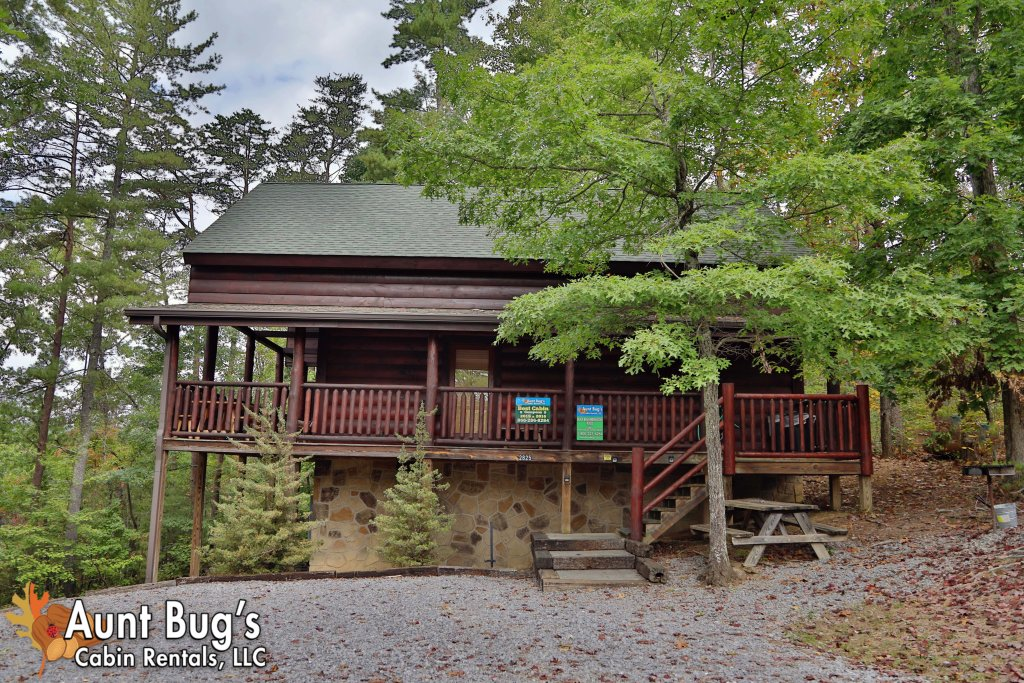 Photo of a Pigeon Forge Cabin named Black Bear Hibernation #2825 - This is the third photo in the set.
