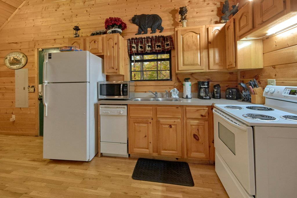 Photo of a Pigeon Forge Cabin named Tranquility Den - 210 - This is the seventh photo in the set.