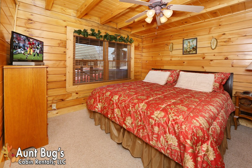 Photo of a Pigeon Forge Cabin named Big Daddy Bear #545 - This is the forty-fifth photo in the set.
